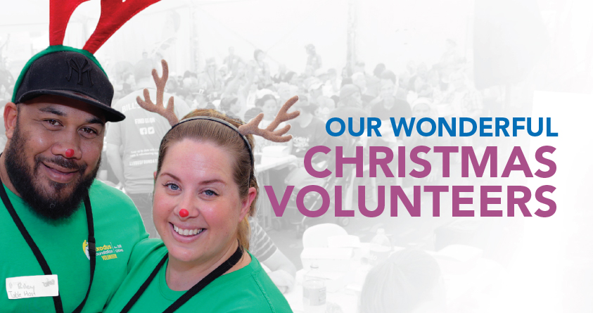 Christmas Day volunteers